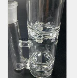 Glaswasser-Rohr des doppelten Filter-Huka-Zubehör-Rohres