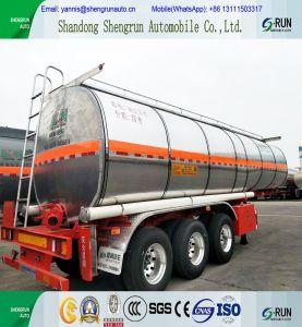 De Semi Aanhangwagen van de Tank van het Asfalt van het Aluminium van de tri-as
