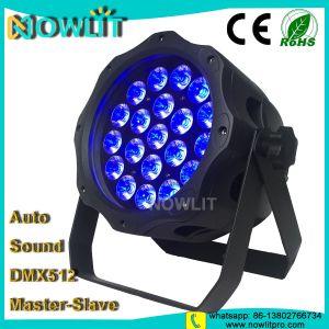 LED 20PCS 15W RGBWA+UV 6in1屋外LEDの段階の同価ライト
