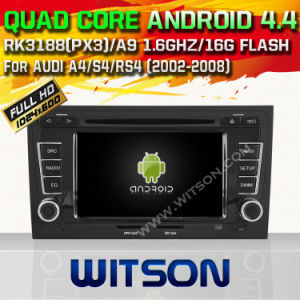 Witson Android 4.4 System Car DVD per Audi A4 (W2-A6964)