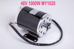 De 1000 Vatios de 48 voltios con el soporte del motor eléctrico scooter moto
