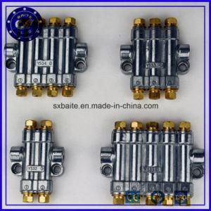 금관 악기 B 유형은 Tk 조정가능한 6 방법 양 기름 다기관 디스트리뷰터를 검출한다