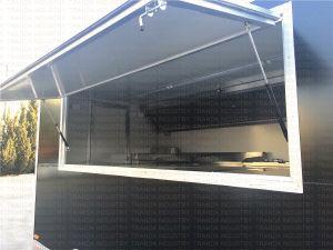 Veicolo 2017 della cucina che cuoce il carrello alla griglia dell'Food Van Crepes Vending