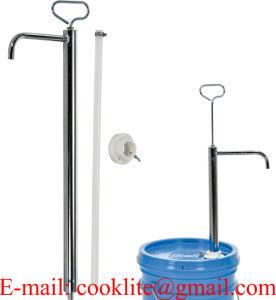 Oel-Umfuellpumpe Hebelfasspumpe Fasspumpe Stahlrohrpumpe Handpumpe Oelpumpe / pompe