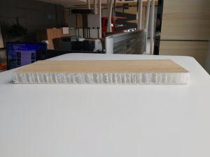 Met een laag bedekt met het Houten Comité van de Honingraat van de Omslag van de Korrel Thermoplastische voor Decoratie