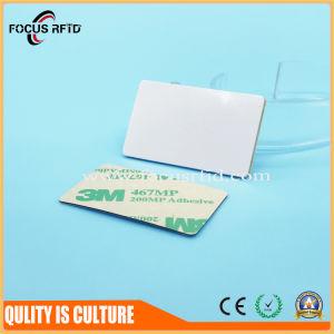 ステッカーのラベルが付いているペットRFID NFC札