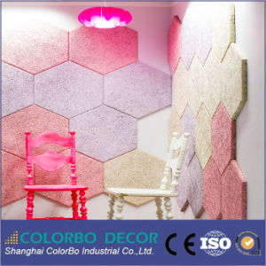 L'absorption acoustique de la laine de fibre de bois Panneau de Plafond acoustique