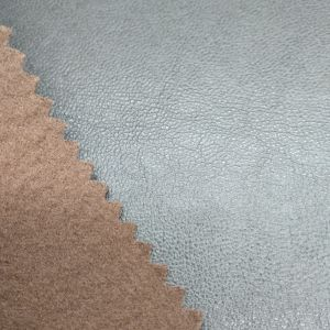 Populares Faux PU couro sintético artificial para sofá /Estofos -Hl16-32