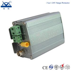 12V 24V 220V CCTVのビデオ・カメラのシグナルのサージの回線保護装置