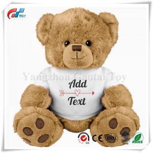 Lindo y diseño personalizado de osito de peluche mediano juguetes de peluche