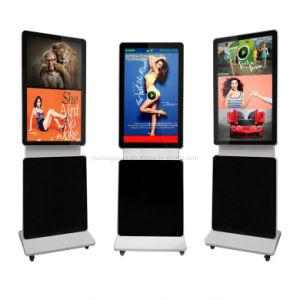 Contrassegno dell'affissione a cristalli liquidi Digital dello schermo di tocco di rotazione di Yashi 65 '' che fa pubblicità al giocatore