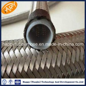 Tubo flessibile di gomma allineato idraulico del Teflon di SAE100 R14/