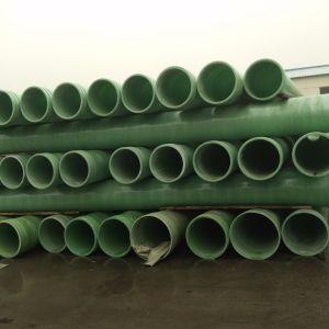 Lijnen Met hoge weerstand van de Pijp van de Watervoorziening van de Glasvezel van de hoge druk de Epoxy