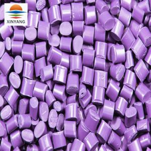 PEの吹くフィルムのためのプラスチック紫色カラーMasterbatch