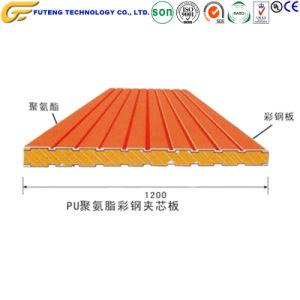 Paneles de poliuretano Sips Paneles de EPS panel sándwich de Tablero de control de precios