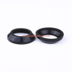 Parti modellate spine di gomma nere personalizzate del silicone della guarnizione del giunto circolare