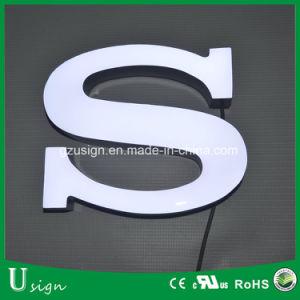Frontlit acrílico mayorista Mini letras de canal 3D