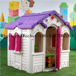 Novo design do jardim de infância Home Use Crianças Piscina Playhouse de plástico com Swing