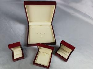 Similicuir Bijoux de papier de luxe Boîte en bois (SH-51)