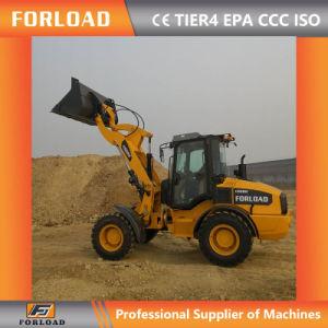 Forload H928m 2.5tons мини малых передней колесный погрузчик с маркировкой CE и гидравлической быстроразъемной сцепки
