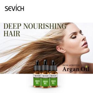 La vitamine E organique sèche l'argan Huile pour le traitement de soins des cheveux
