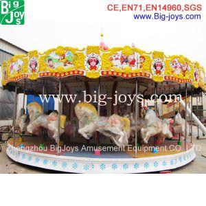 24 lugares do parque de diversões passeio carrossel para venda, Merry vá ao redor