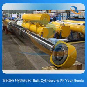 Cilindro Telescópico Hidráulico multiestágio para Caminhão Basculante/Escavadoras/reboque
