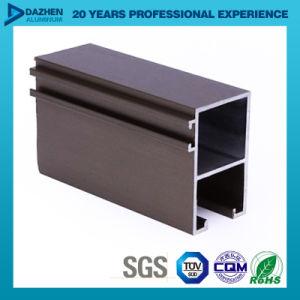 Perfil de aluminio del aluminio 6063 para el color modificado para requisitos particulares puerta de la talla de la ventana