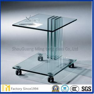 3mm 4mm 5mm 6mm Sicherheits-ausgeglichenes Möbel-Raum-Floatglas oder Glas-Teil für Möbel mit unterschiedlicher Form als Nachfrage