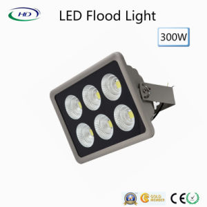 Holofote LED 300W Luz Jardim Warm/Pure/Branco Frio