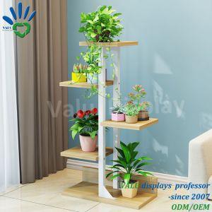 Металлическая подставка для растений сад оформлены Flower Pot полки для использования вне помещений из кованого железа для установки внутри помещений