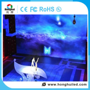 En el interior P2.5 HD de pantalla LED digital para el uso del vídeo de discoteca