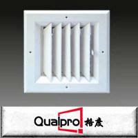 Amplamente usado grelha de alimentação de grelha de ar de alumínio com amortecedor de blade de opor a deflexão da dupla de aquecimento
