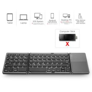 Pliage de pavé tactile Le clavier Bluetooth bt Portable Rechargeable
