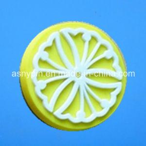 カスタム円形の花レモンデザイン冷却装置磁石のステッカー