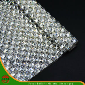 新しいデザイン熱伝達の付着力の水晶樹脂のラインストーンの網(HS17-13)