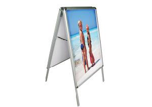 Im Freienc$alu-zeile Bildschirmanzeige/Fahnen-Standplatz für Advertinsing (DW-ALD204)