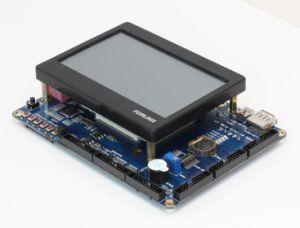 Arm11 de la Junta Embedded Sbc Ok6410-Kit de desarrollo de un lcd+4.3''256 MB DDR/1GB de memoria Flash NAND SLC Wince Linux Android