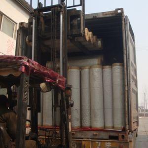 Du grain du bois décoratifs en PVC/aluminium pour porte de Film/armoire/conseil de presse de la membrane de vide