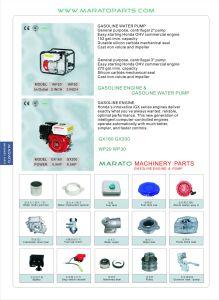 Wp20/Wp30/Wp40ガソリン水ポンプの予備品