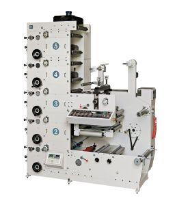 Dbry-320 Ci 박판으로 만들기 각인하는 Flexographic 알루미늄 호일 플라스틱 종이컵 필름 레이블 롤 감기는 기계를 인쇄하는 절단 구멍을 뚫는 째는 색깔 Flexo를 정지한다