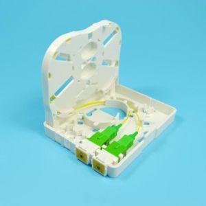 2/4/6/8/16/24FTTH puertos Mini caja de inicio de la caja de terminales de fibra de la placa frontal cuadro Distibution