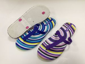Deux couleurs de l'homme Chaussures pour dame