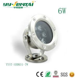 Indicatore luminoso di inondazione subacqueo di 6W LED per il raggruppamento/giardino