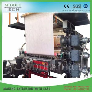 Prix de gros de la Chine en matière plastique Feuille en faux marbre artificiel en PVC/board/profile/d'Extrusion de décisions de la machinerie de l'extrudeuse