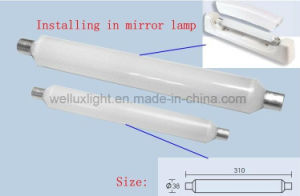 9W S19 Tube miroir d'éclairage à LED lumière linéaire LED avant