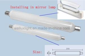 9W S19 Tubo LED Iluminación LED frontal Espejo de luz lineal