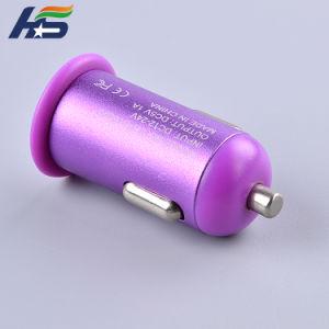 Caricatore variopinto del Portable del caricatore di corsa di automobile del USB di prezzi bassi
