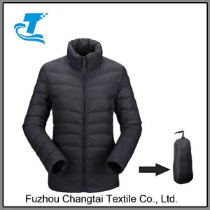 Packabe mulheres curto Inverno casaco para baixo