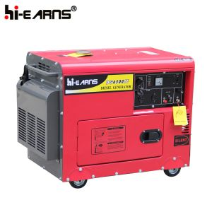 휴대용 5kw Emergency Generator Set (DG6500SE)